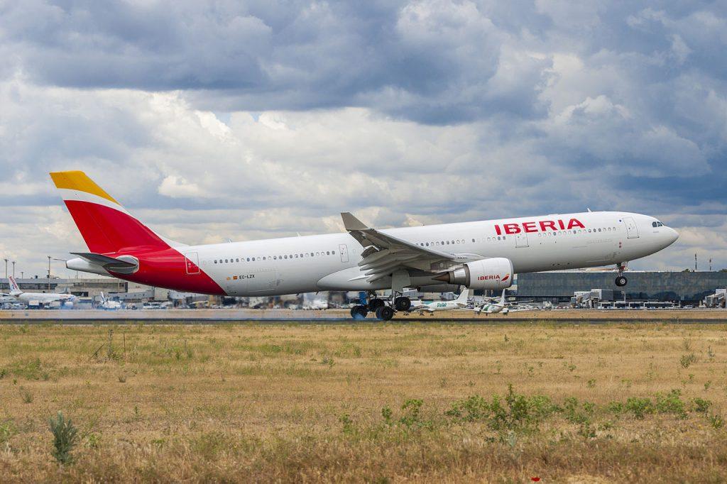 Iberia-en-Madrid-Barajas