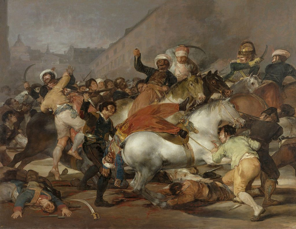 Levantamiento-popular-pintado-por-Goya