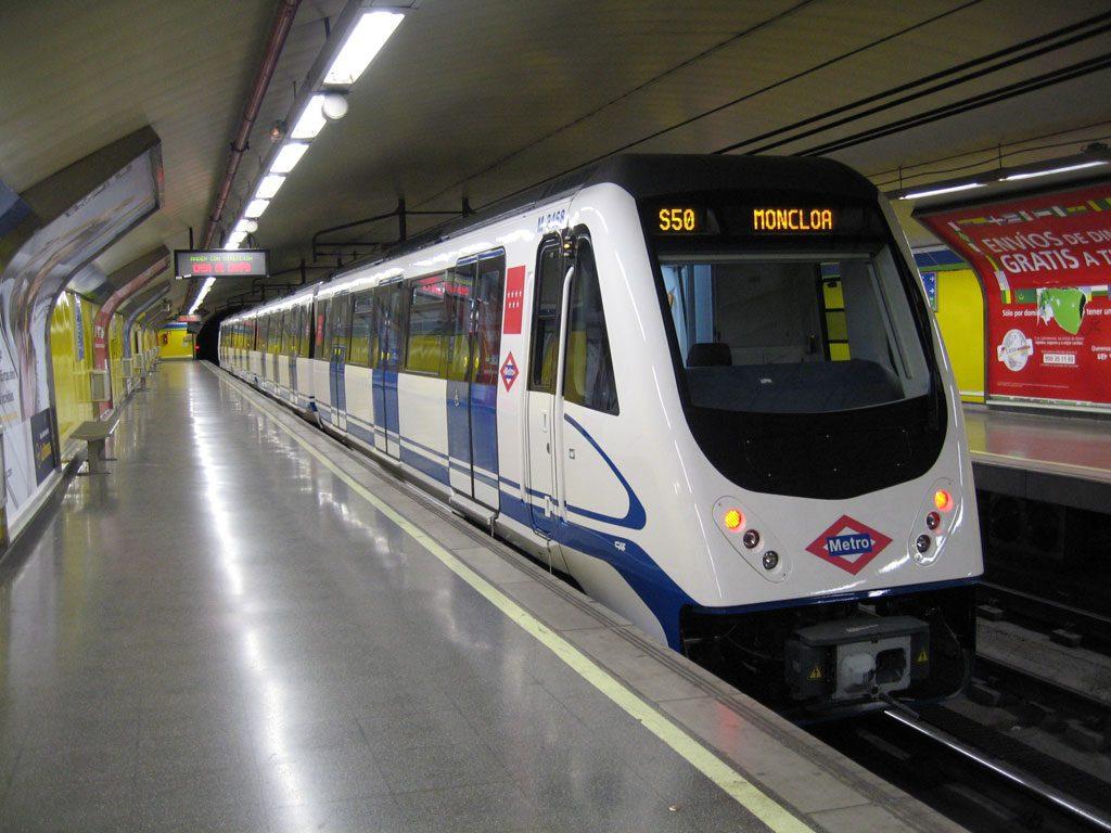 Metro-en-Madrid