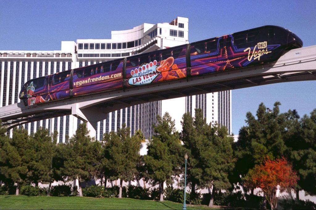 Monorriel-en-Las-Vegas