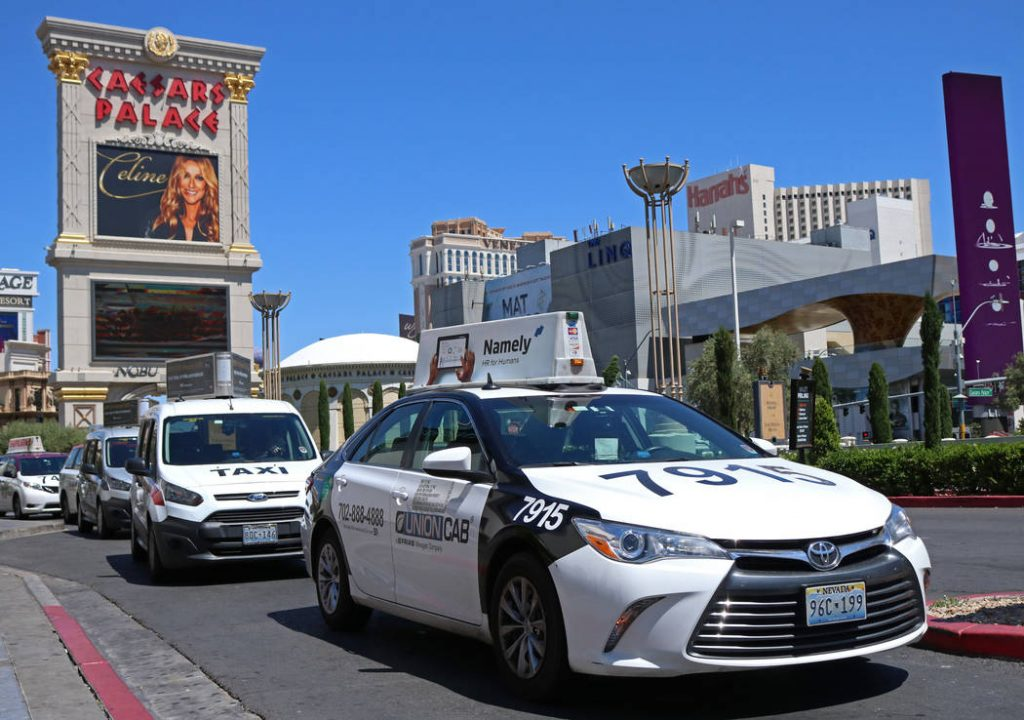 Taxis-en-Las-Vegas