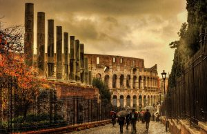 Visión general de la ciudad de Roma