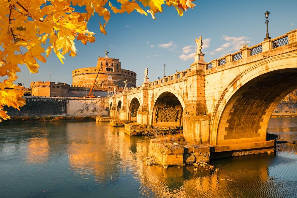 Estaciones del año en Roma - Verano, invierno, primavera