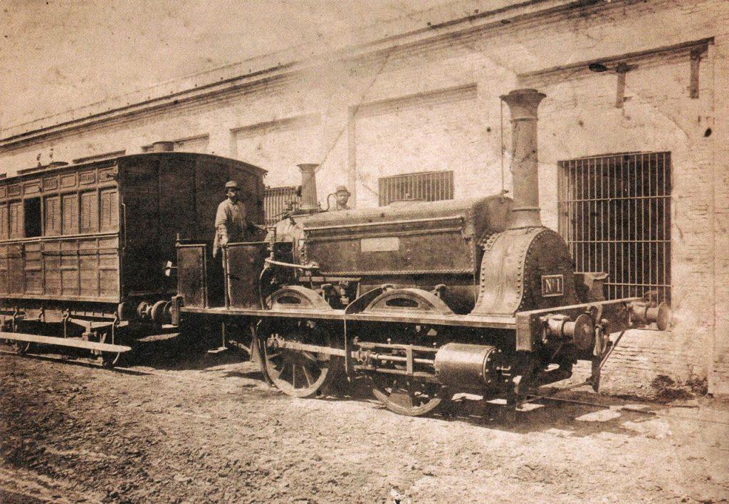 Primer-tren-de-Buenos-Aires