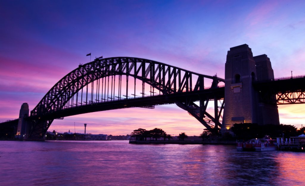 Puente-del-puerto-de-Sidney