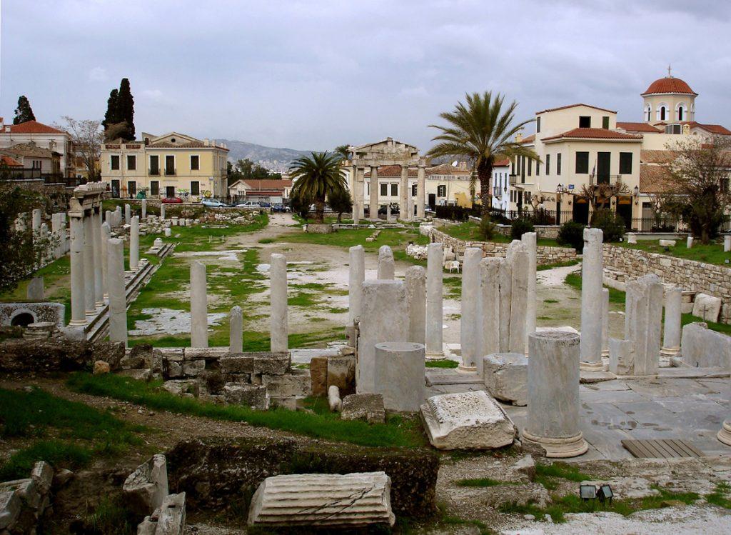 Agora-romana-o-Foro-romano
