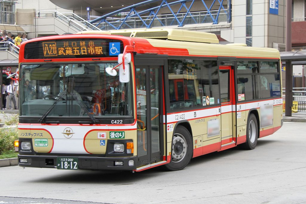 Autobus-en-Tokio