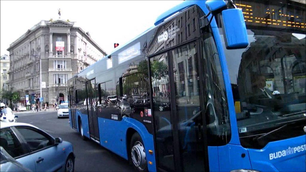 Autobuses-en-Budapest