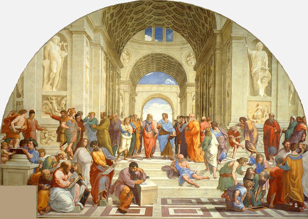 Escuela-filosofica-de-Atenas