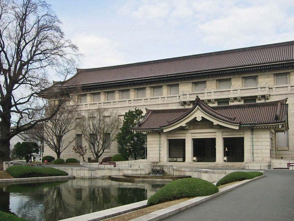 Exterior-del-museo-Nacional-de-Tokio