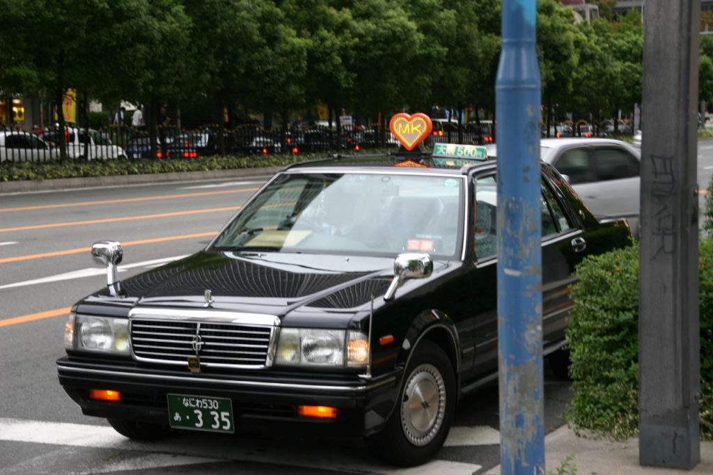 Taxi-disponible-en-Tokio