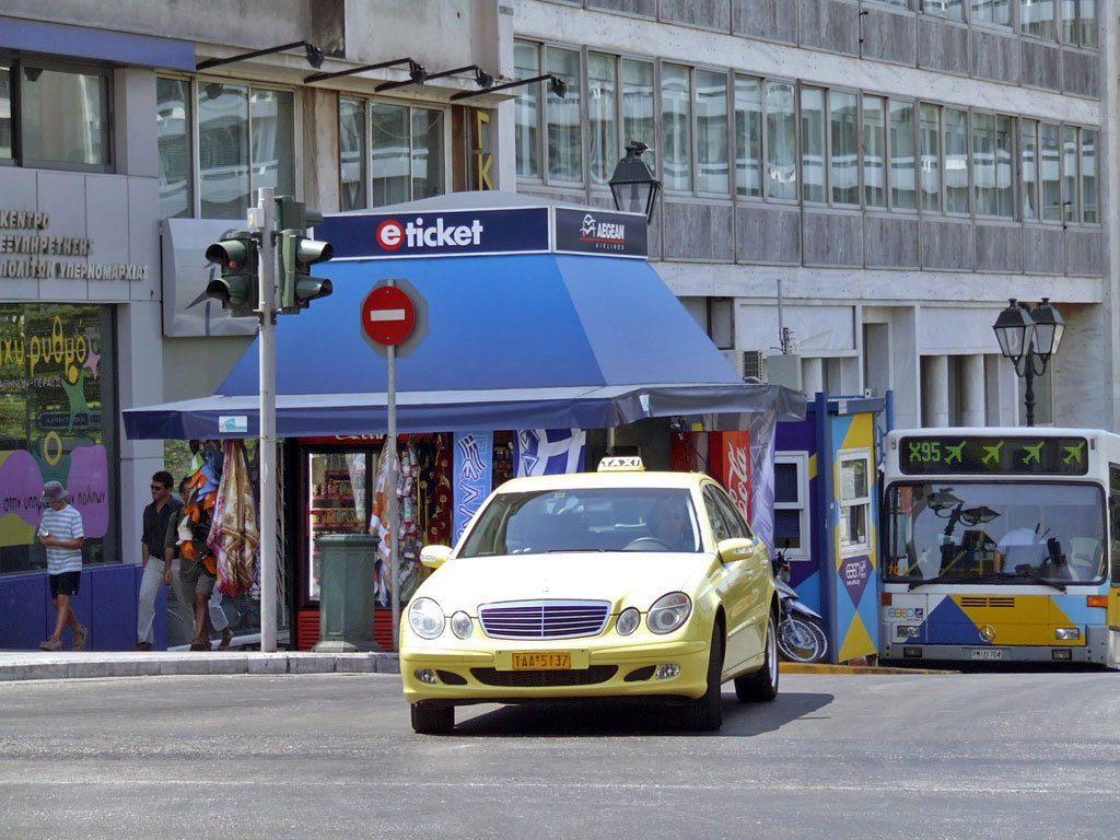 Taxi-en-Atenas