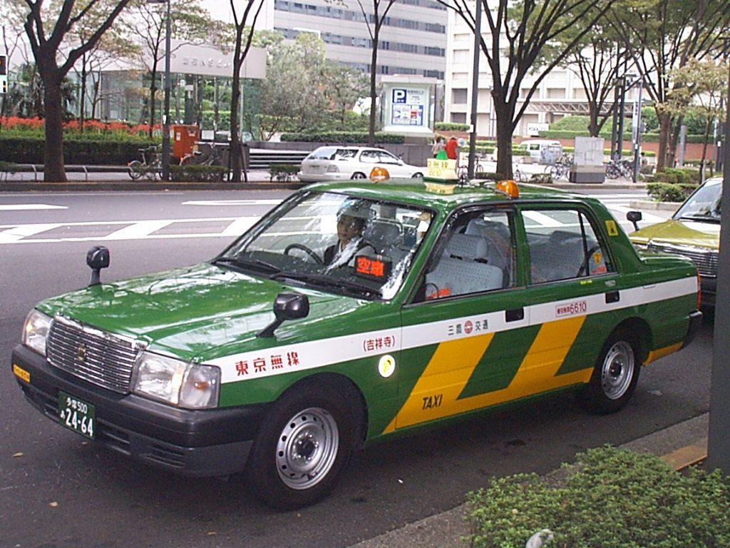 Taxi-en-Tokio