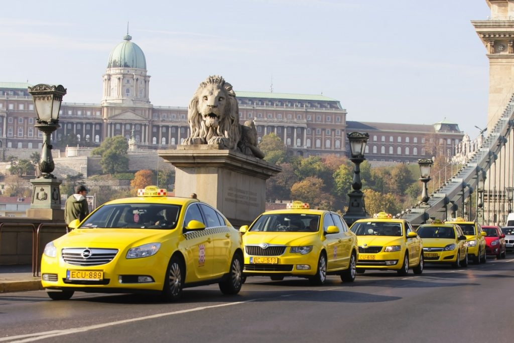 Taxis-en-Budapest
