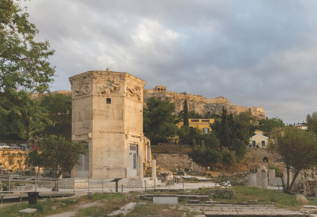 Tower of the Wind-gods in Roman Agora and Acropolis