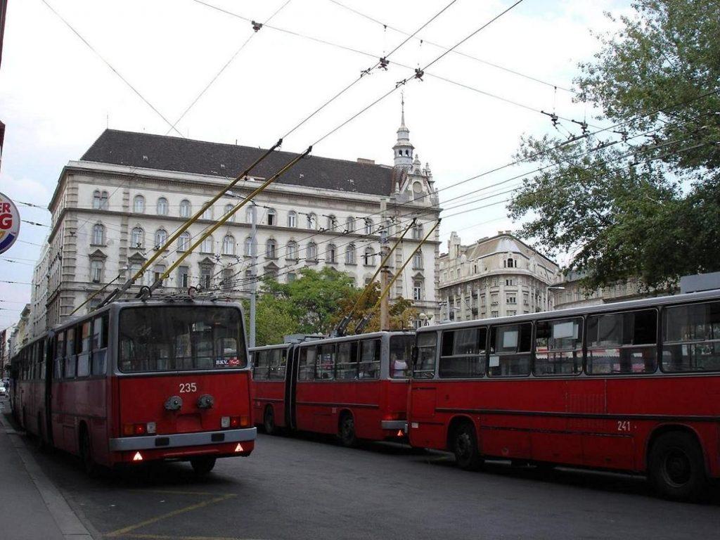 Trolebuses-en-Budapest
