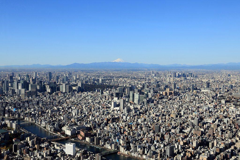 Vista-panoramica-de-Tokio